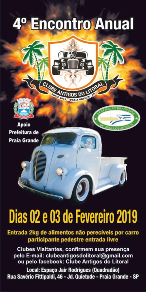 f1 - Eventos de Fevereiro - 2019