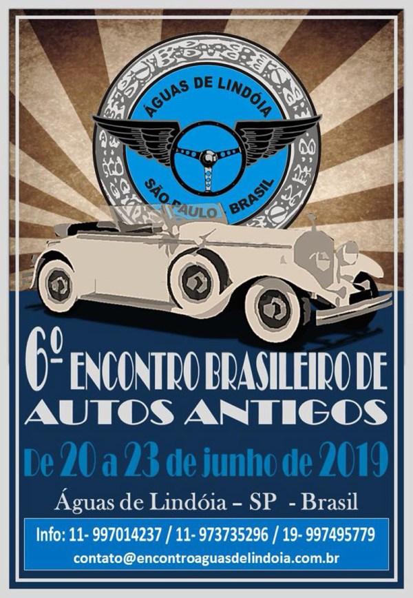 lindoia - 6º Encontro Brasileiro de Autos Antigos de Águas de Lindoia - 2019