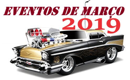 ttr - Eventos de março - 2019