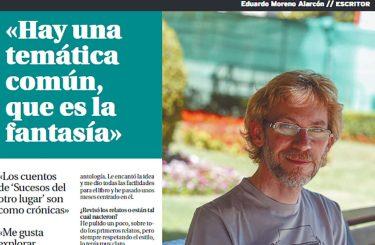 La Tribuna de Albacete – Reportaje a Eduardo Moreno