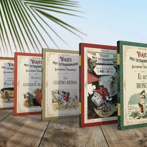 """Presentamos los """"Viajes muy extraordinarios de Saturnino Farandoul"""" de Albert Robida"""