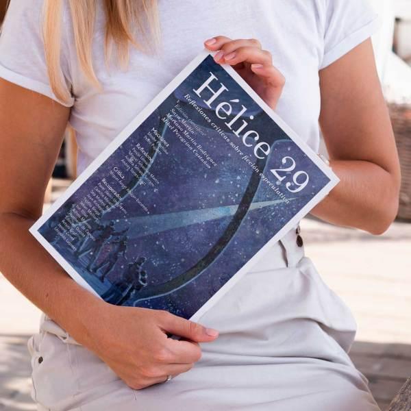 La prestigiosa revista Hélice, tendrá su versión en papel, de la mano de Gaspar & Rimbau