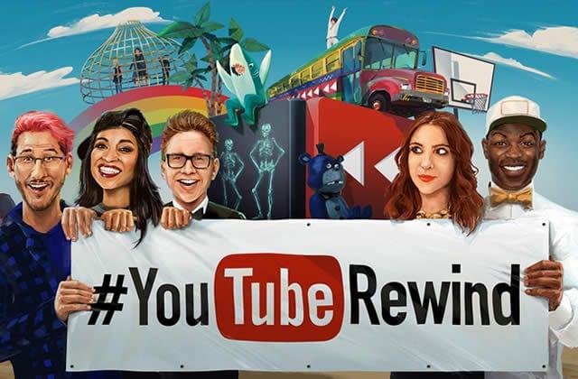 2015 YouTube Rewind 年度熱門影音回顧