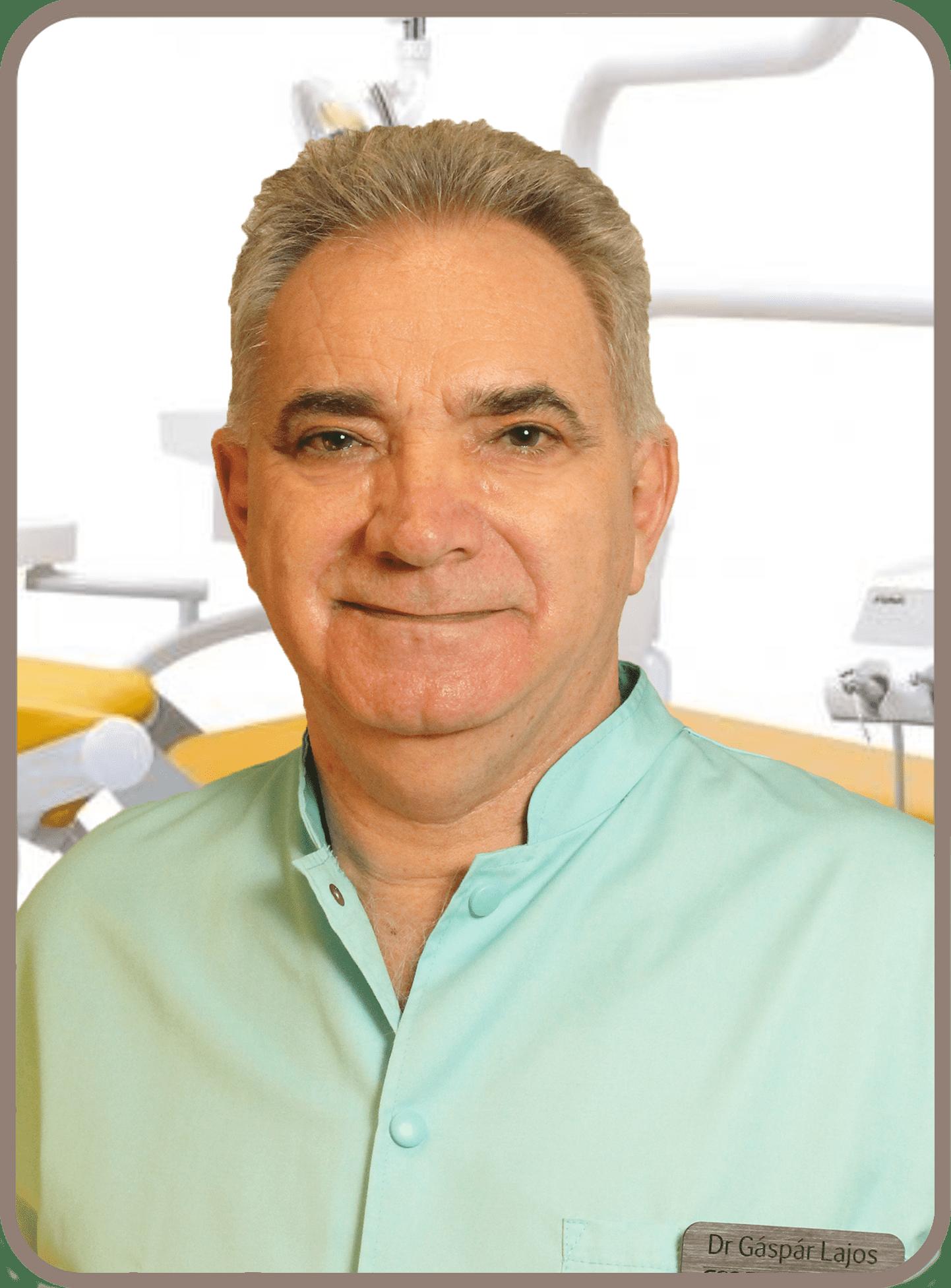 Dr Gáspár Lajos igazságügyi orvosszakértő fogorvos szájsebész implantológia Gáspár Medical Center