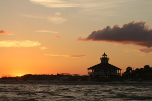 Boca Grande Sunsets at the lighthouse, definitely makes our list of top 10 things to do on Boca Grande.