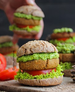Protein packed burgers