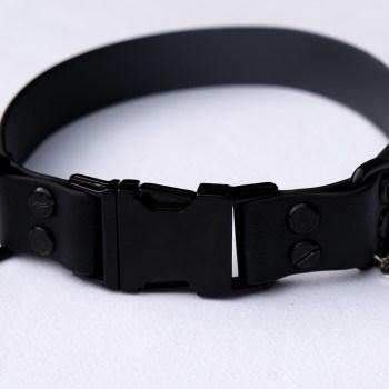 Biothane Halsband – Black