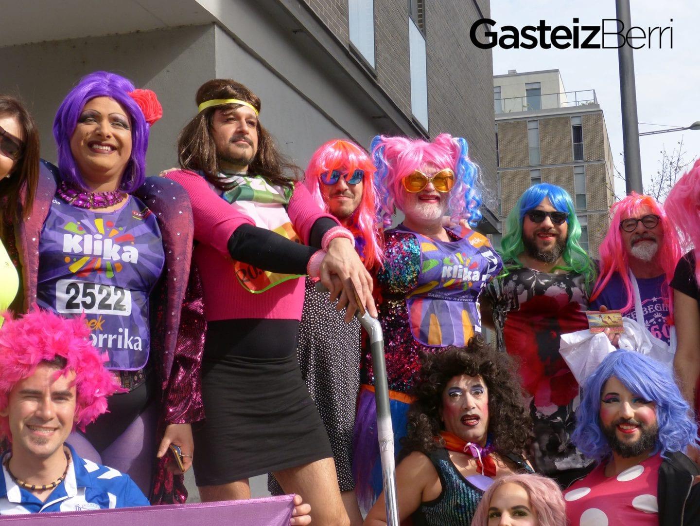 Kilometro Trans en la Korrika | Foto: GasteizBerri