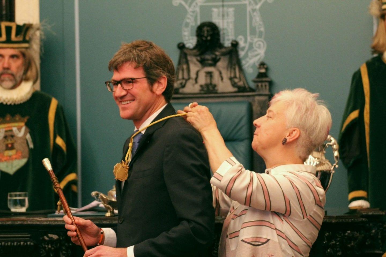 Gorka Urtaran alcalde de Vitoria
