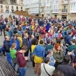 📸 Concentración en la Virgen Blanca en solidaridad con Catalunya