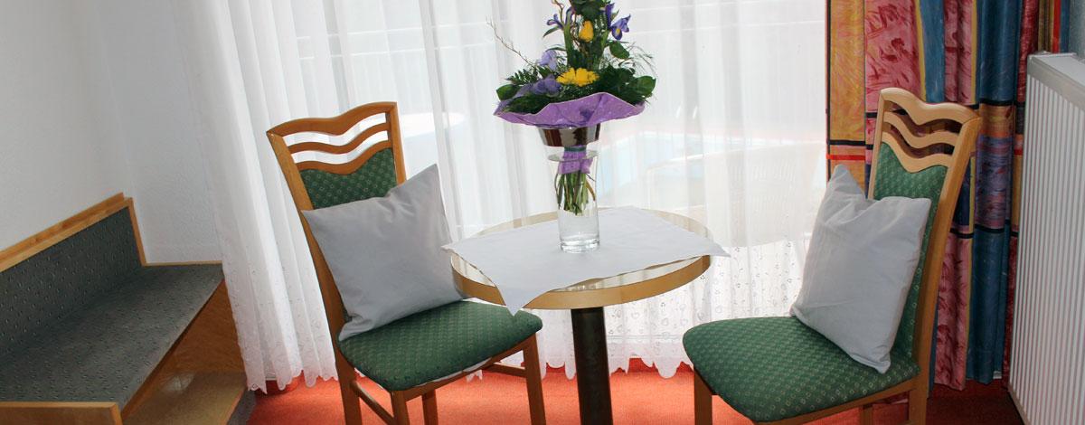 Zimmer im Gasthof Zahn in Stedten