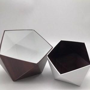 """8279C328 3DF7 45F0 A25F 95FCB1B3A3BD rotated - Leewalia - Boite Origami """"Acajou et blanc"""""""
