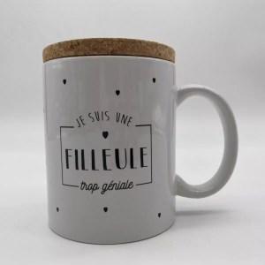 """IMG 2054 - Marcel et Lily - mug """"filleule"""""""