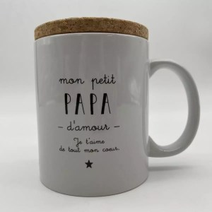 "IMG 2056 - Marcel et Lily - mug ""papa d'amour"""