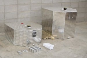 Fuel Tanks from Gas Trailer