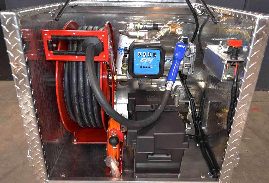 Fuel Hose Reel - Pro 110 Industrial FTS