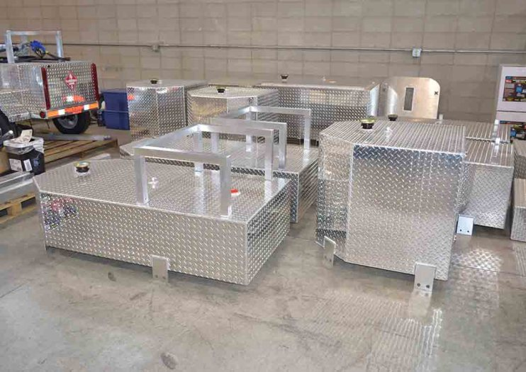 Fuel Tanks Ready For Fabrication
