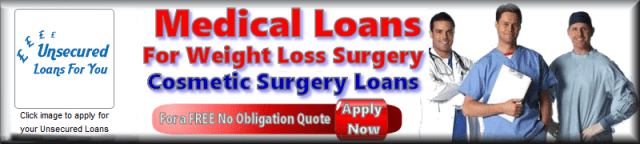 Medical Loans for gastric band surgery