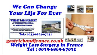 We can Change your life forever with Bariatric Surgery in France