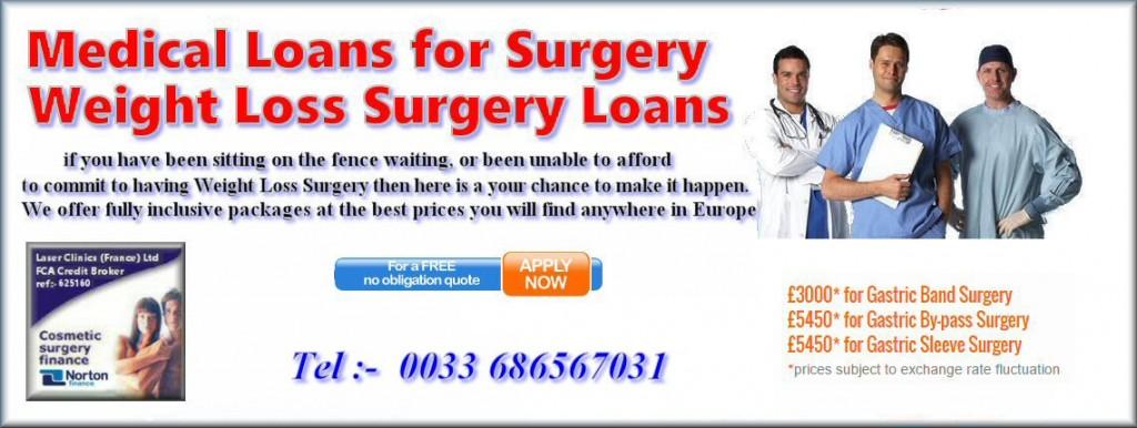 Medical Loans banner