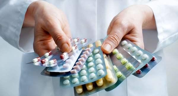 Mga gamot para sa exacerbation ng gastritis na may mataas na