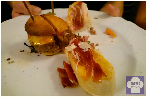 Mini hamburguesitas de La Colchonería