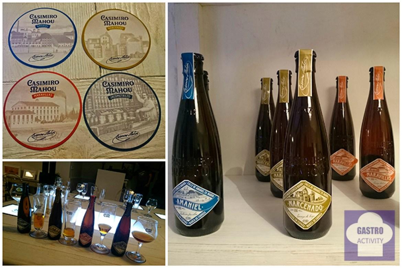 Las 4 variedades de las cervezas de autor Casimiro Mahou