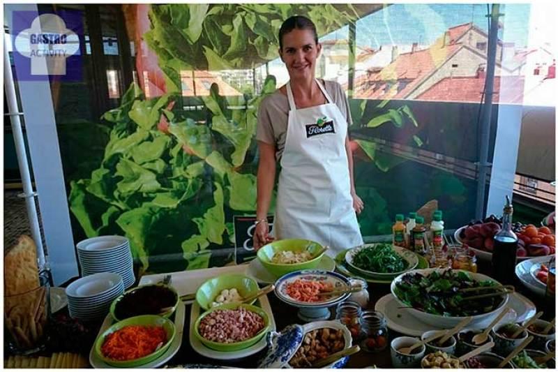 Catering de Samantha Vallejo-Nágera en la presentación de Florette