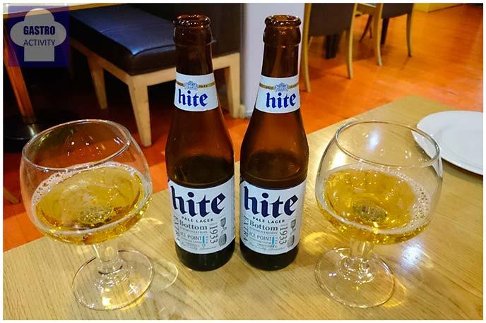 Cerveza coreana Hite