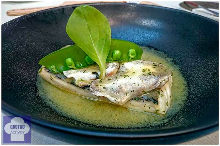 Lomo de merluza en salsa verde
