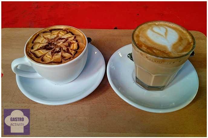 Café Mocca y Café Latte