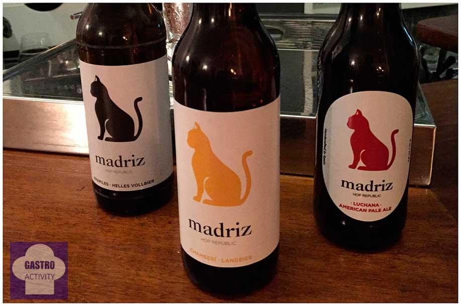 Cervezas artesanas Madriz