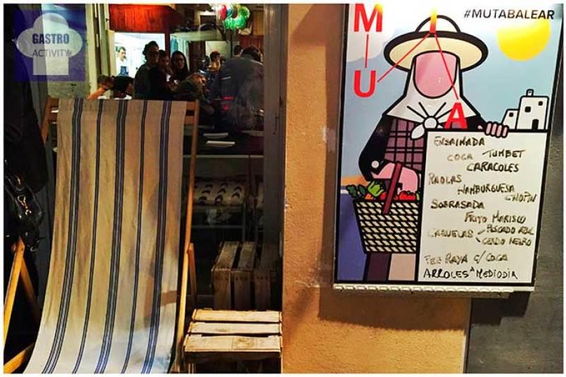 Fachada Muta Balear restaurante Muta Madrid