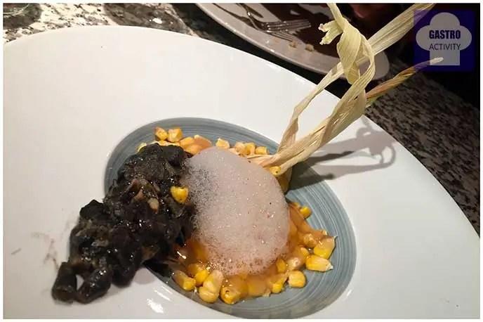Huitlacoche en su hábitat natural Restaurante Random Madrid