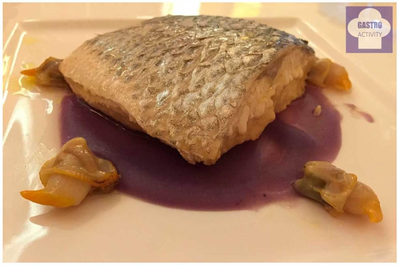 Lubina salvaje en escabeche Restaurante La Era Madrid
