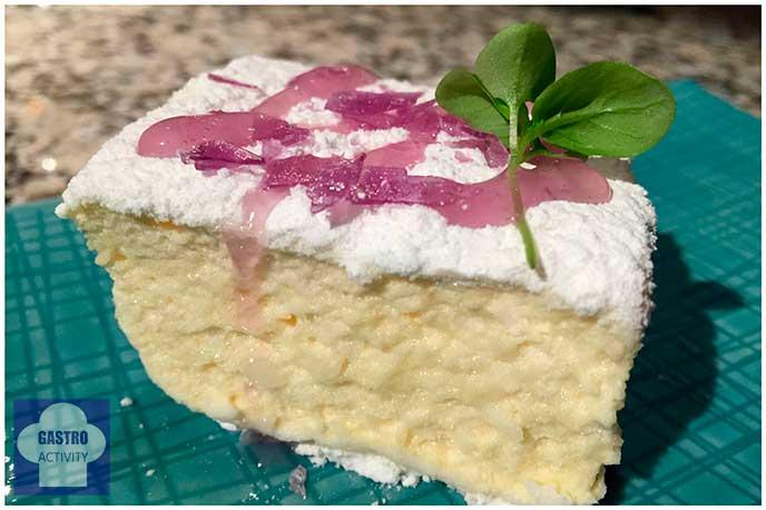 Marshmallow de fruta de la pasion Restaurante Random Madrid