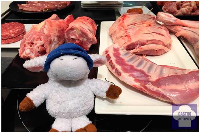 Nuevos cortes de carne de cordero y lechal