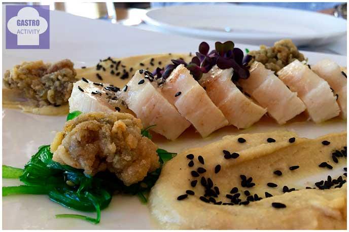 Tataki de pez mantequilla Restaurante Seven & Six
