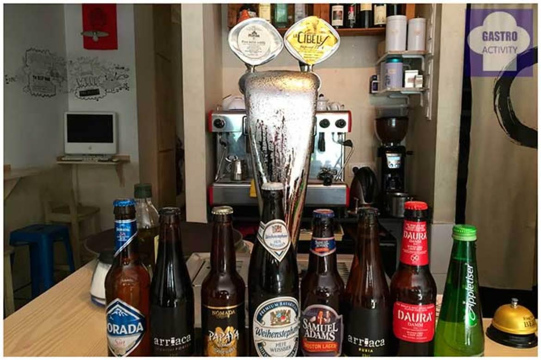Restaurante The Place cervezas artesanas