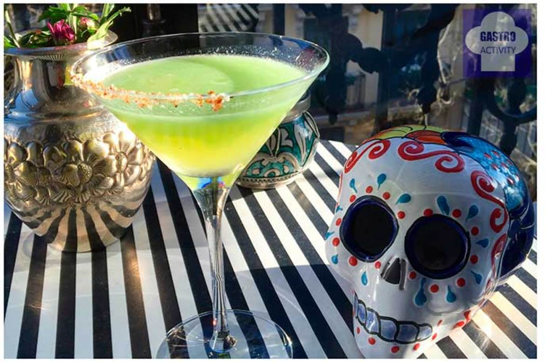 Margarita de kiwi Takering catering saludable mexicano