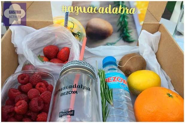 Aguas infusionadas de Bezoya pack para hacer el taller