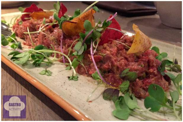 Steak Tartar Restaurante Lavaca Madrid
