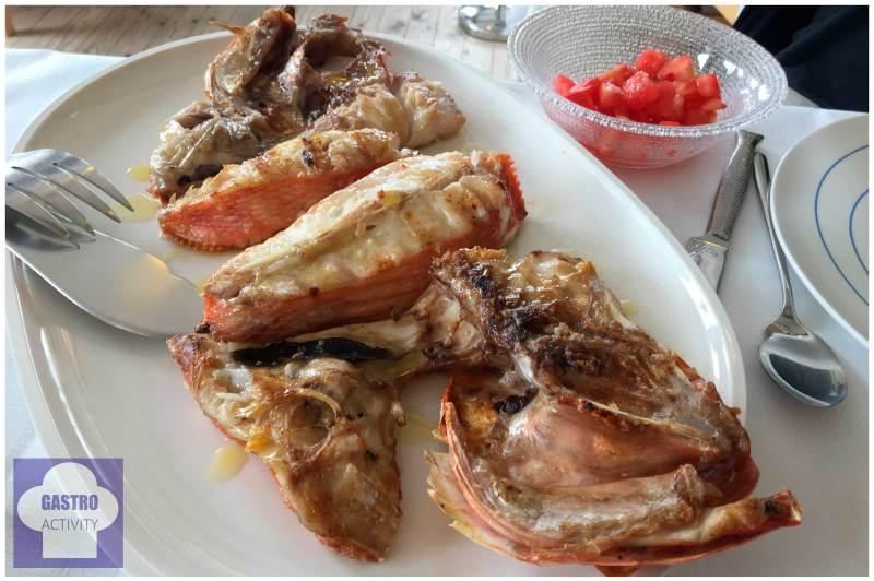 pez rey Restaurante Gueyu Mar