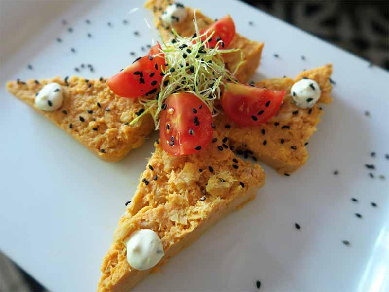 Restaurante Gigi Pastel de cabracho