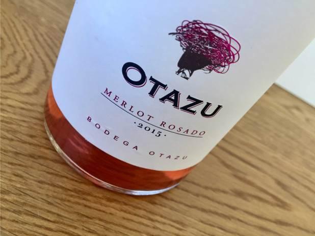 Merlot Rosado de 2015 bodega Otazu Regalos gourmet Navidad