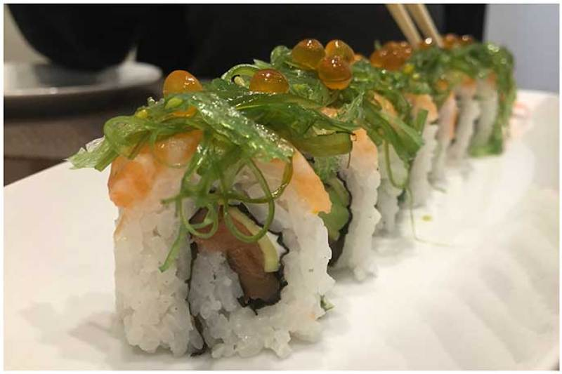 Alaska Roll Yamato Sushi Bar Heron City