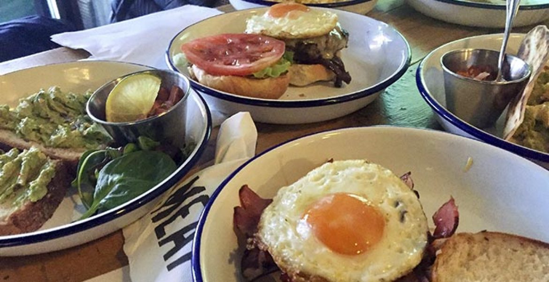 Sandwich Desyuno Brunch MEAT Madrid