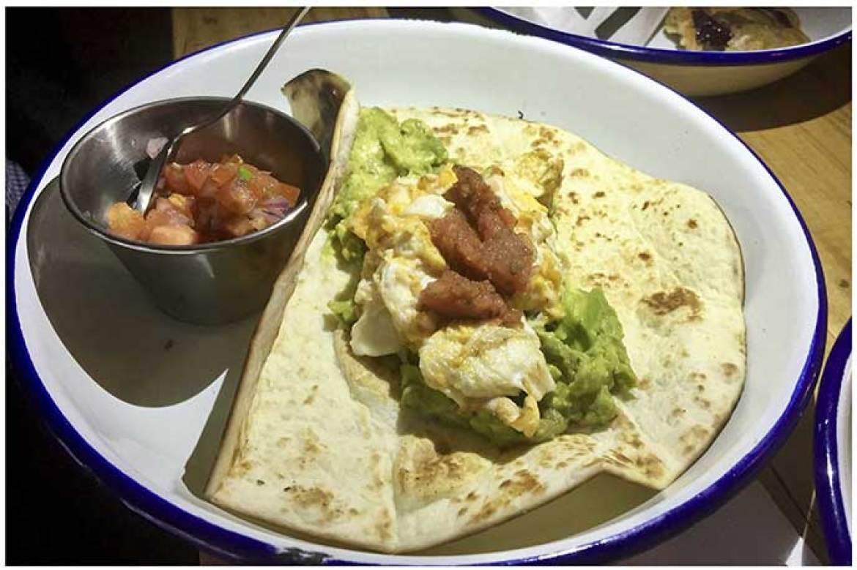 Tacos Desayuno MEAT Madrid