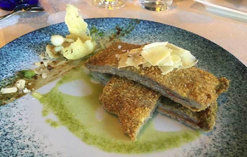 Cachopo asturiano Restaurante La Dehesa de Las Tablas