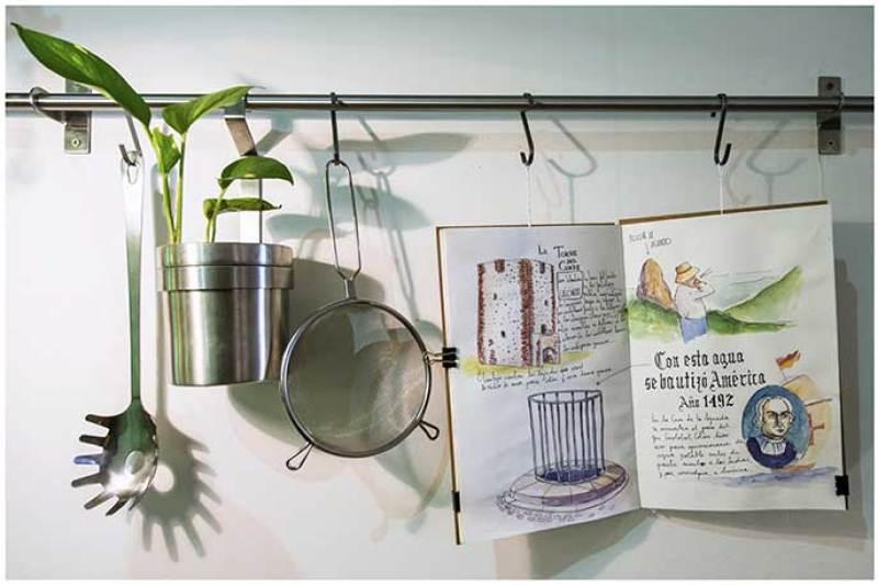 Ilustraciones María Bombassat Restaurante Gofio Madrid